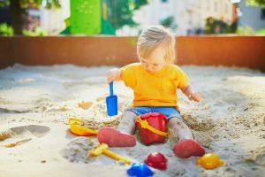 Aire de jeux sable