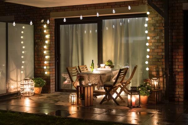 Aménagement terrasse extérieure
