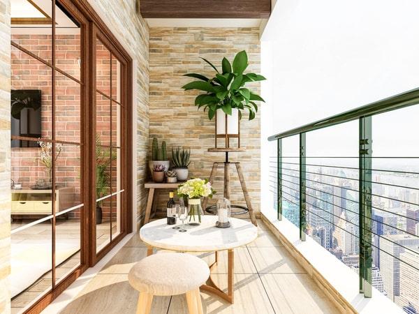 Décoration terrasse balcon