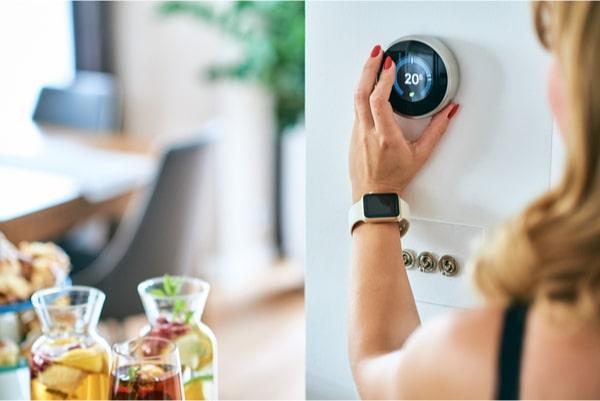 économies d'énergie avec un thermostat