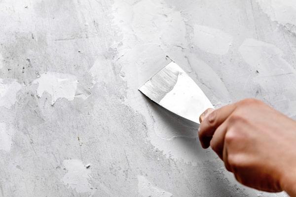 reparer fissure sur un mur