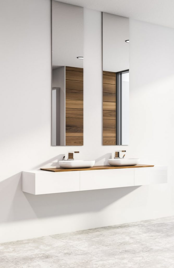 Rénovation salle de bain : un avant et après comparatif