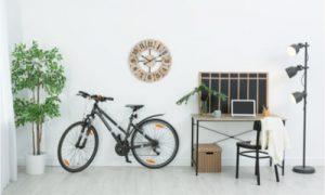 Rangement intérieur pour vélo