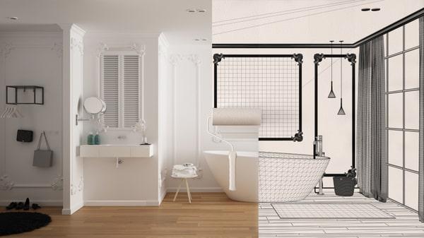 Rénovation salle de bain avant après 3